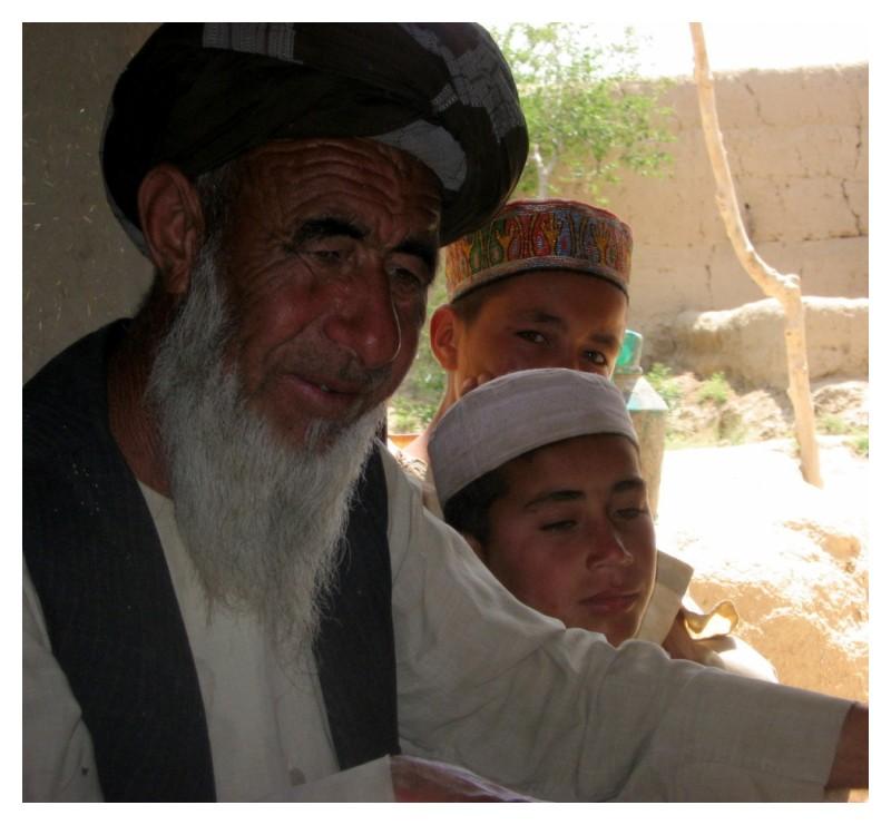 Turkmen villager