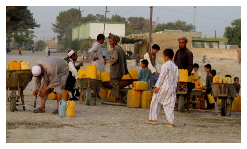 water in aqcha