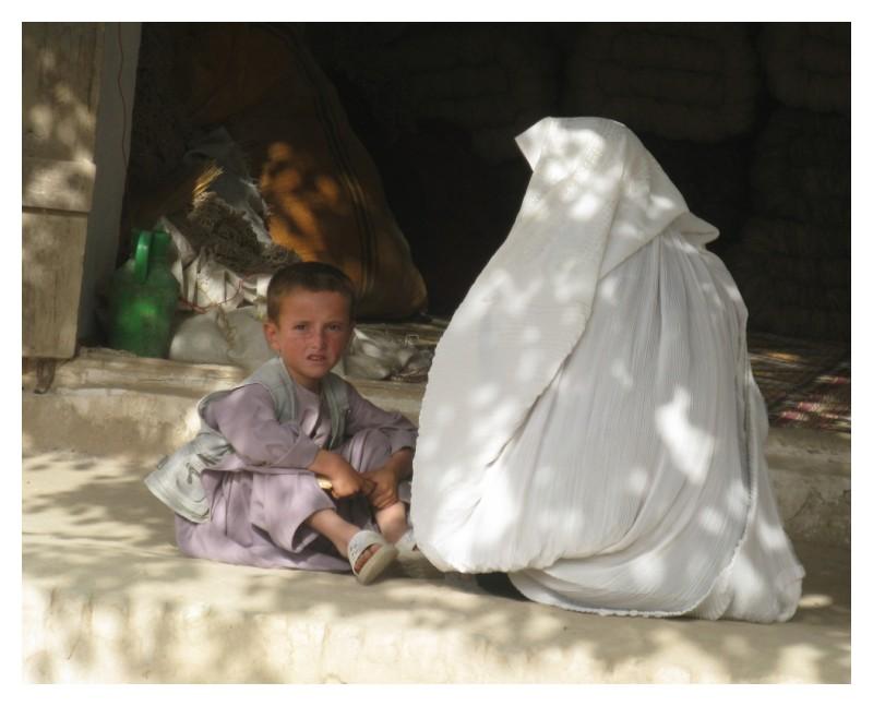 little afghan boy