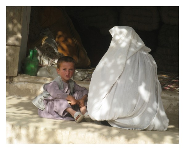 little afghan boy