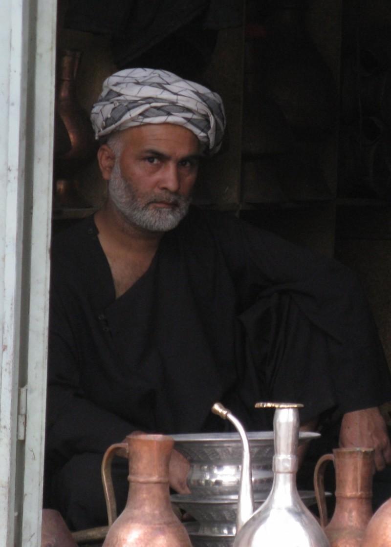 Turkmen coper maker