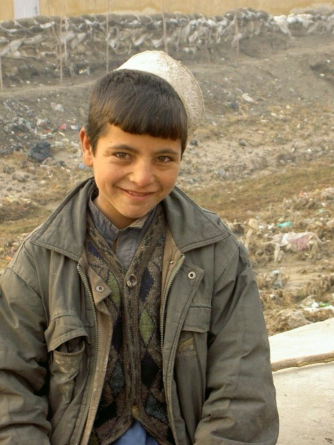 young kabuli pashtun boy