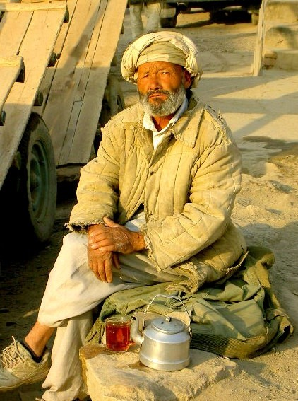 old hazara day worker