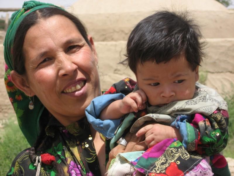 Turkmen mother