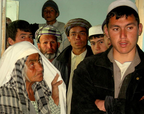 group of afghan people