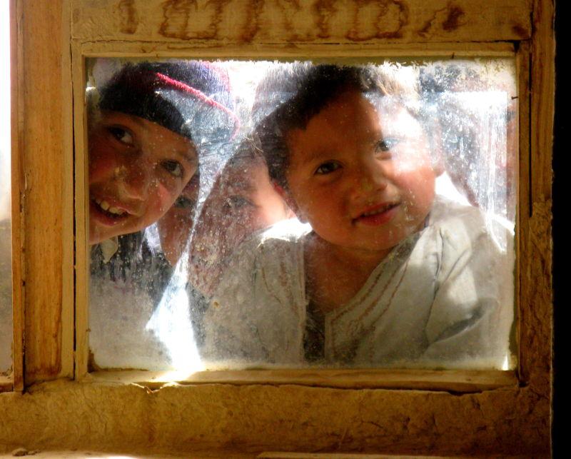 Afghan Turkmen children
