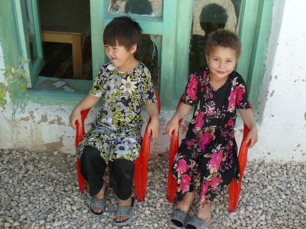 Liitle Turkmen  girls