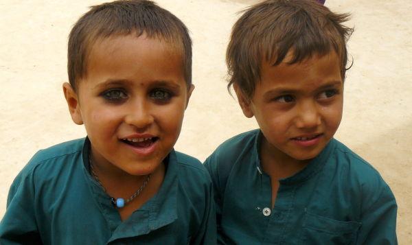 Afghan boys