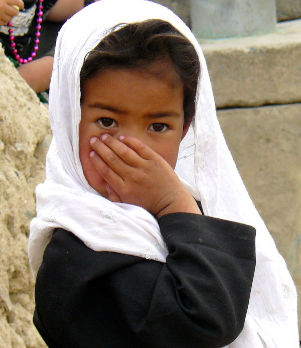 Through the eyes of afghan child