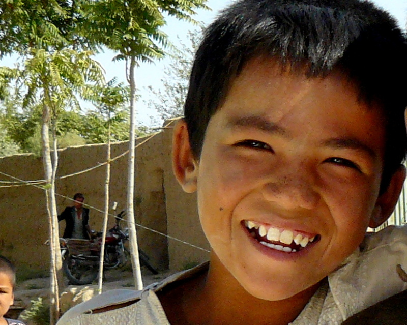 Afghan faces, smiles