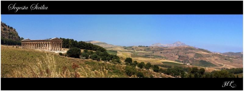 Segesta Panorama (Sicilia)
