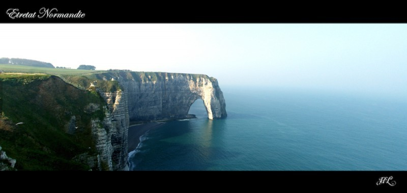 Panorama Etretat (France)