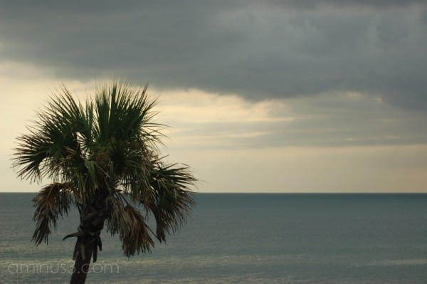 A bit of stormy weather on the Gulf