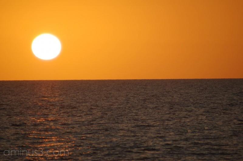 A warmer sunset