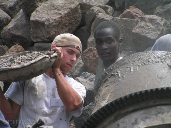Two mission workers in Kenya