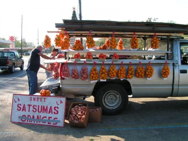 A satsuma truck