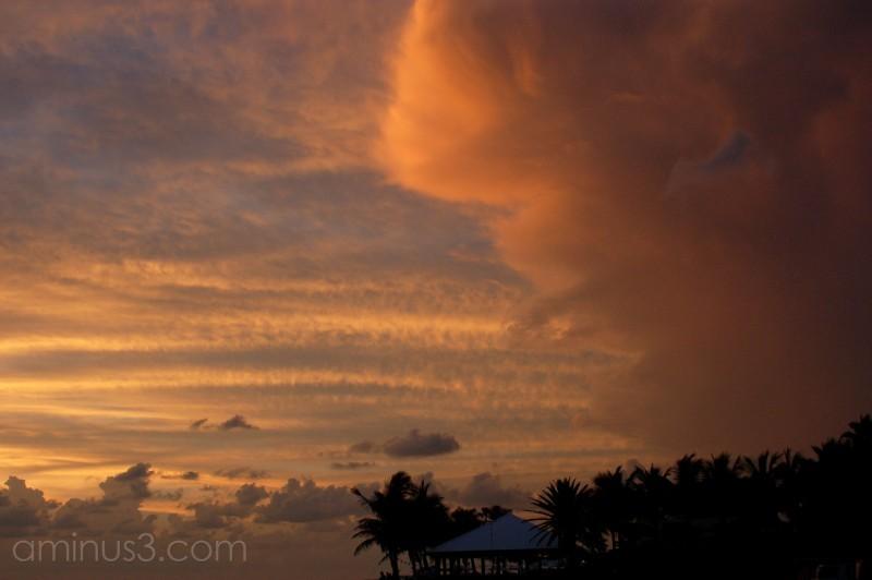 An Island sunset
