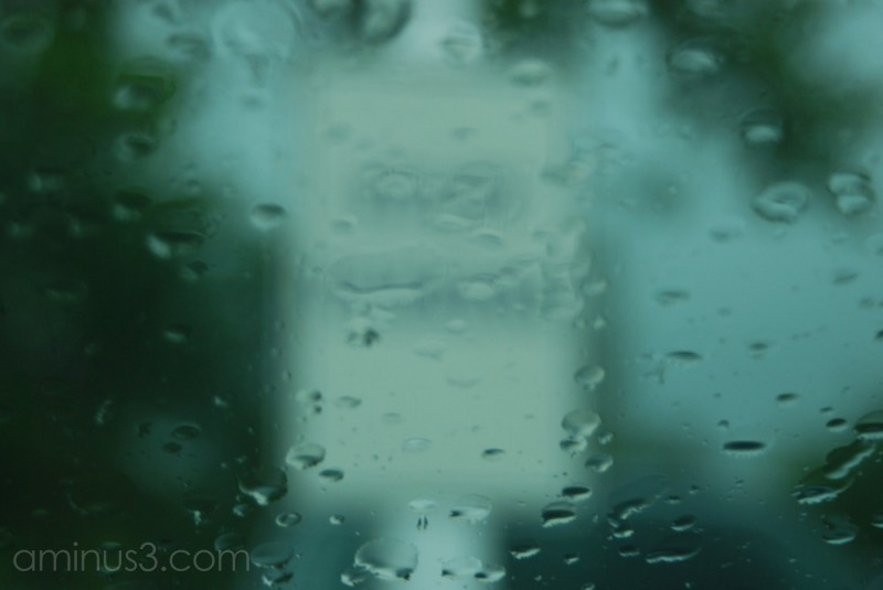 Blurred by Raindrops