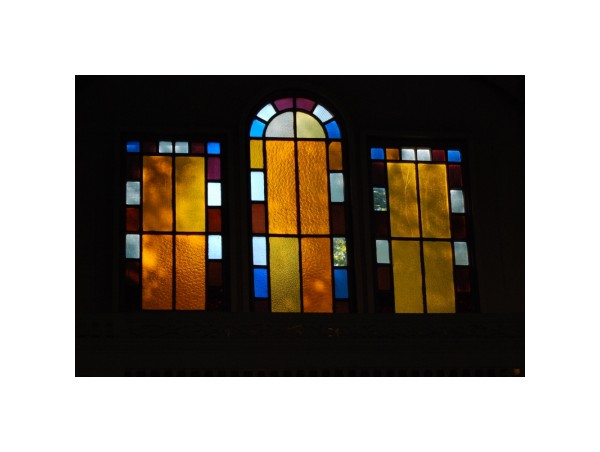 staninedglass tabernacle window CapeCod Campground