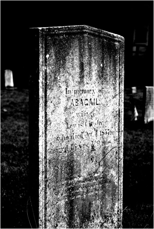 tombstone Abagail