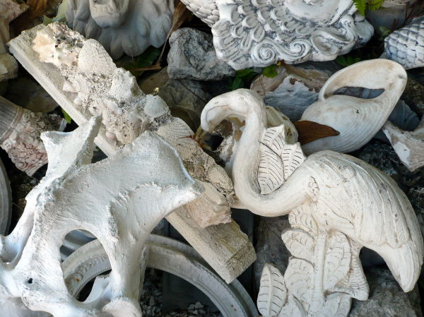 rubble flamingo