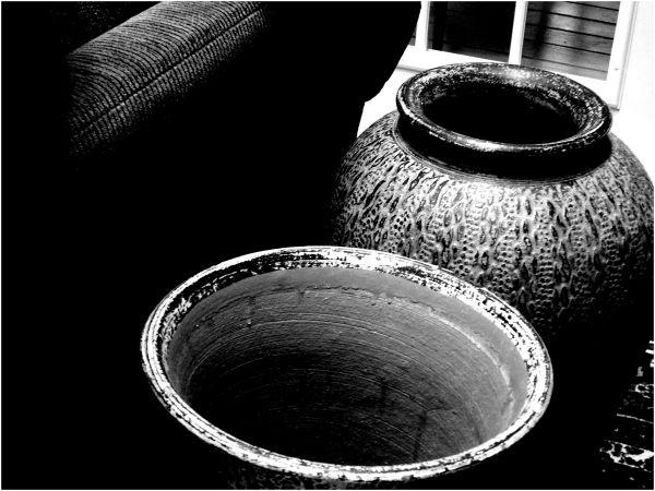 Vases Textures BW