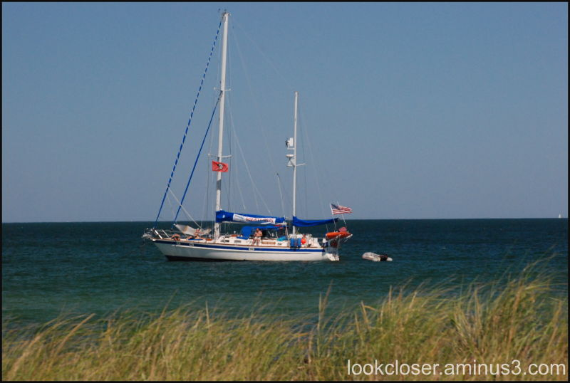 chilling sailboat capecod