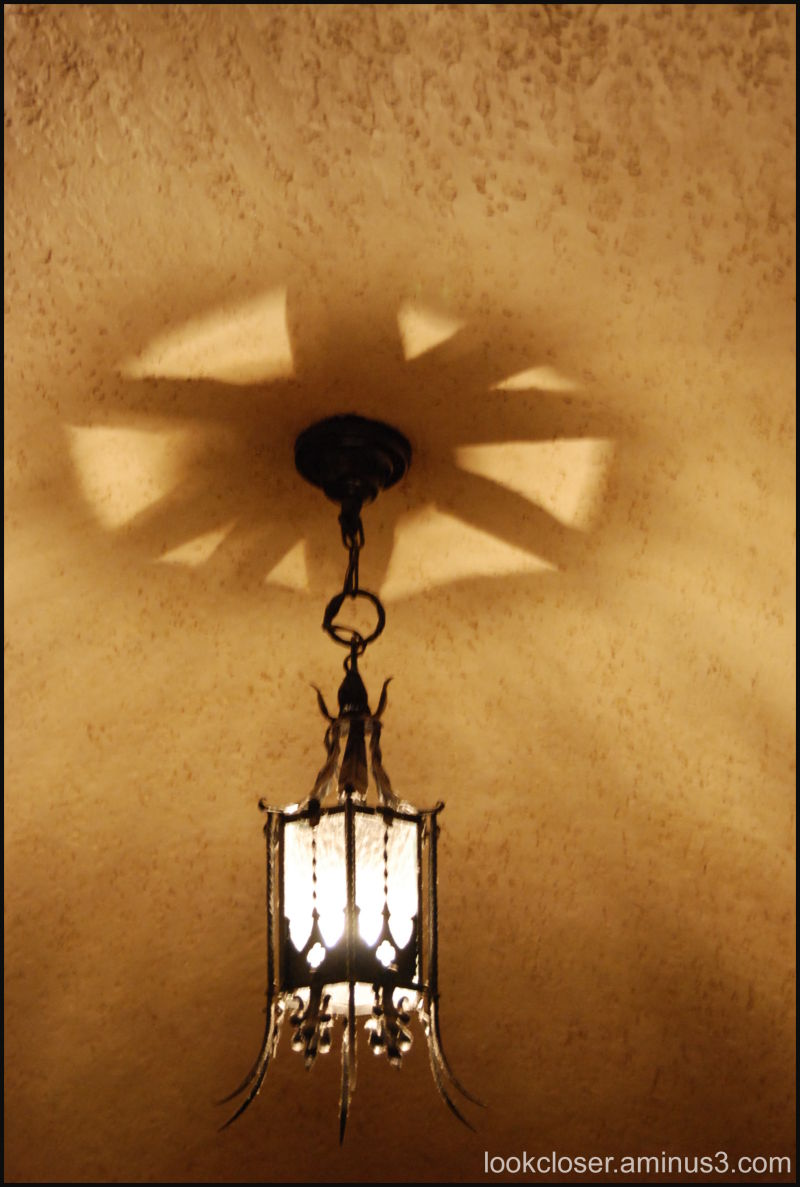 ringling chandelier ceiling shadows