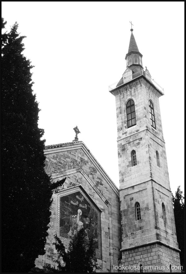 church bw