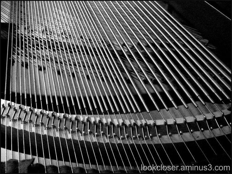 piano bw