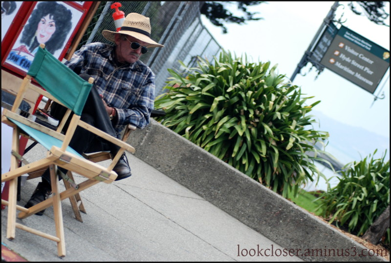 SF Fisherman's Wharf Artist People