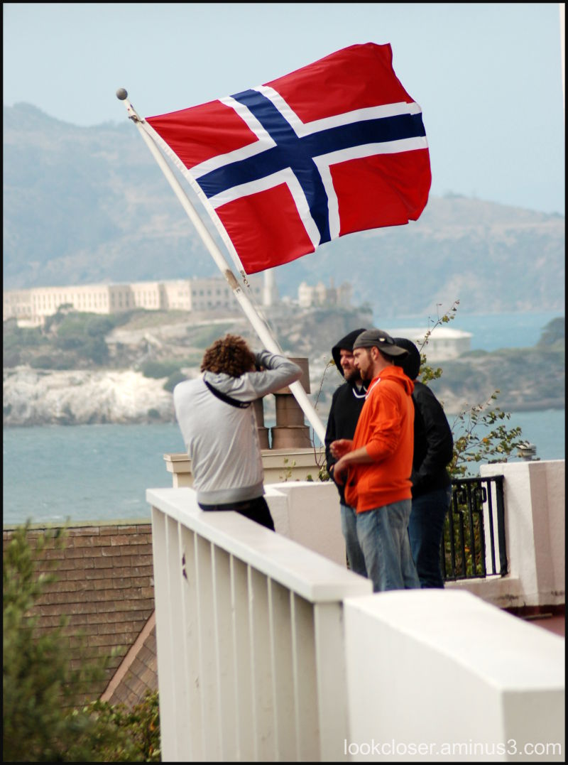 SF Norwegian Seaman's Church flag