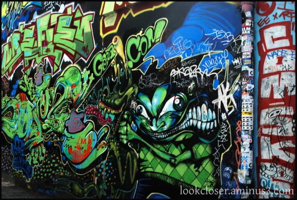 SF Graffiti sign Haight-Ashbury