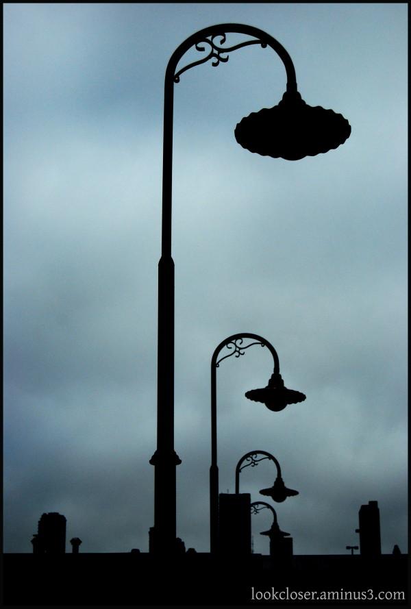 SF Fisherman's Wharf lamp posts