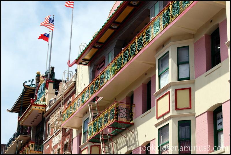 SF Chinatown balcony-ironwork