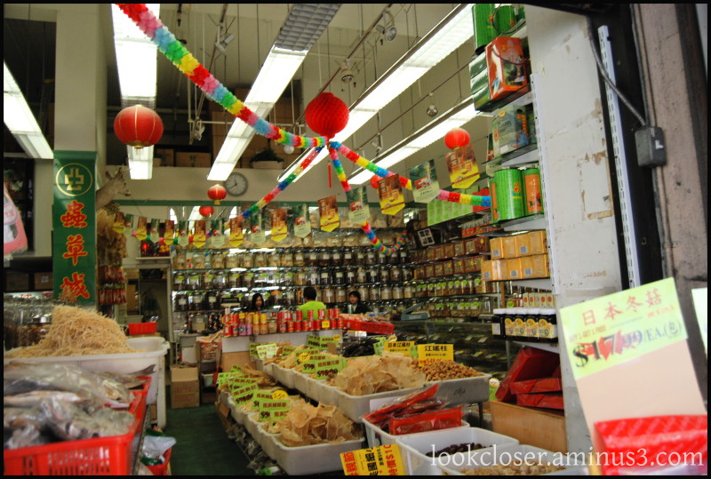 SF Chinatown grocery