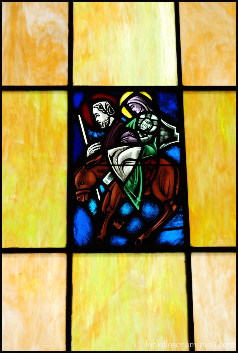 CA Bodega St.Teresa Stained Glass