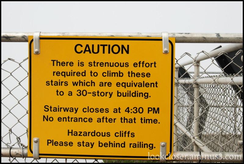 CA Pt.Reyes Warning Sign