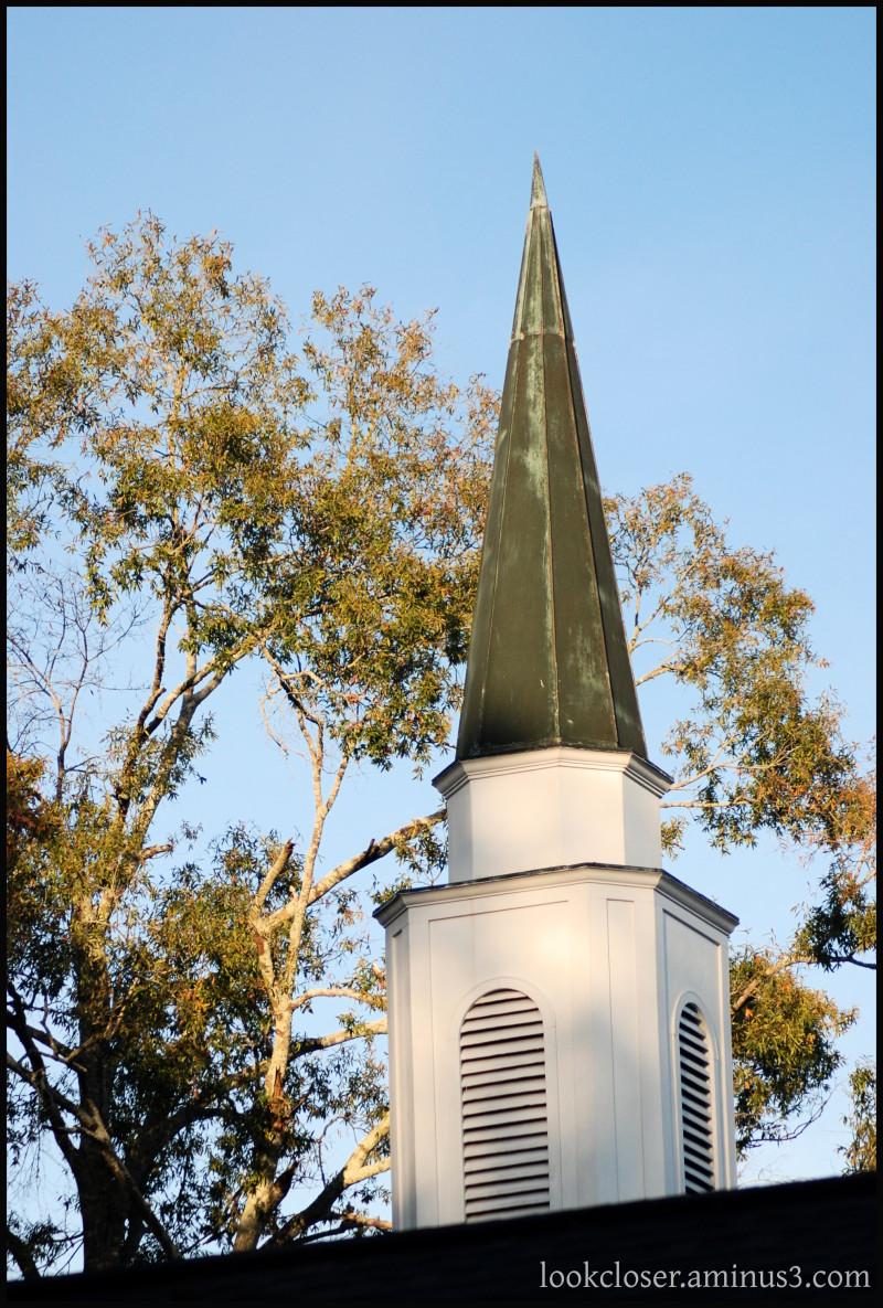 LA Pontchatoula FirstPresbyterian steeple