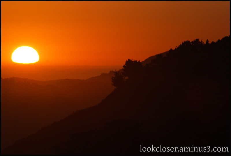 CA BigSur sunset