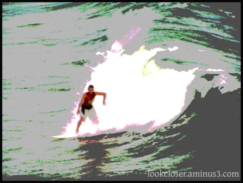 FL surfer posterized