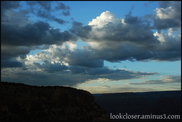 Grand-Canyon AZ West afternoon