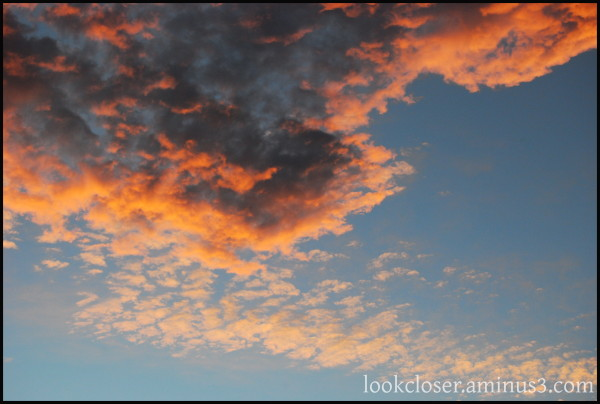Sedona AZ sunset sky