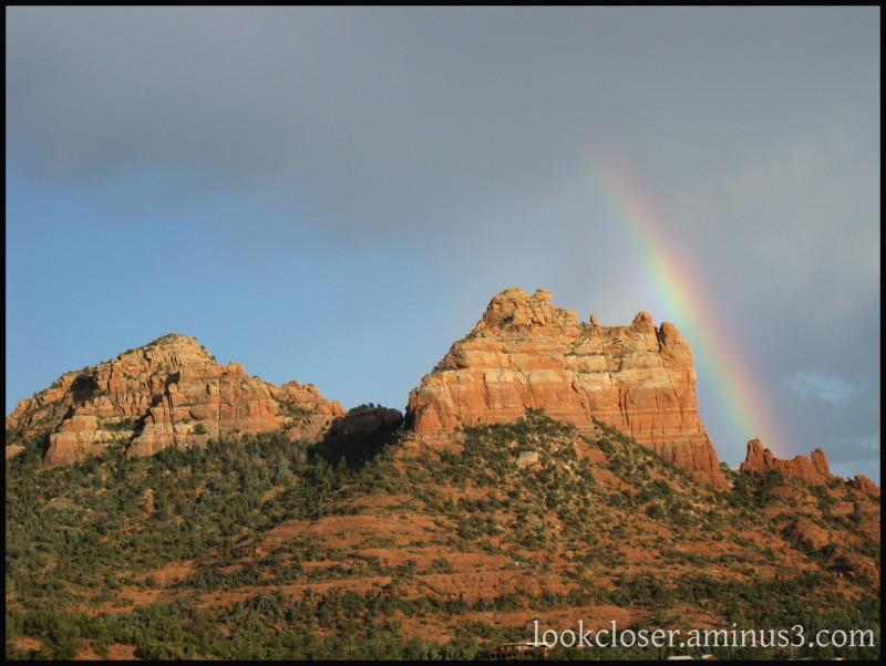 Sedona AZ rainbow mesa
