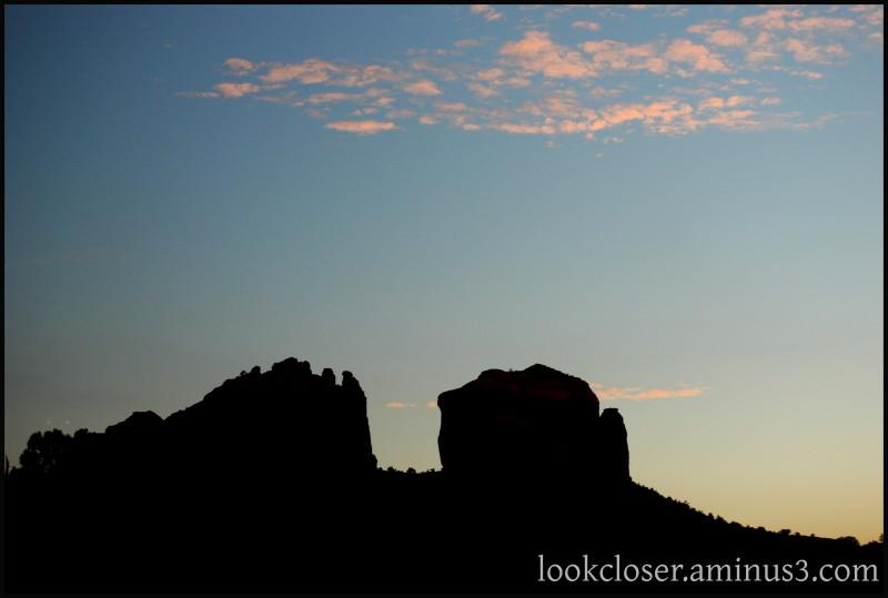 Sedona AZ mesa sunset