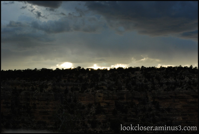Grand-Canyon sky West
