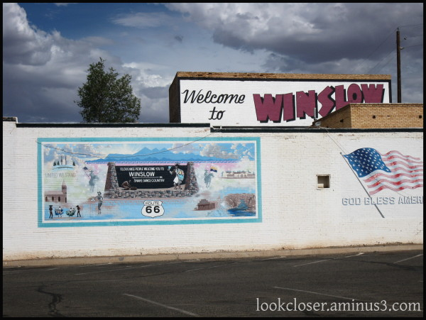Winslow AZ Corner West