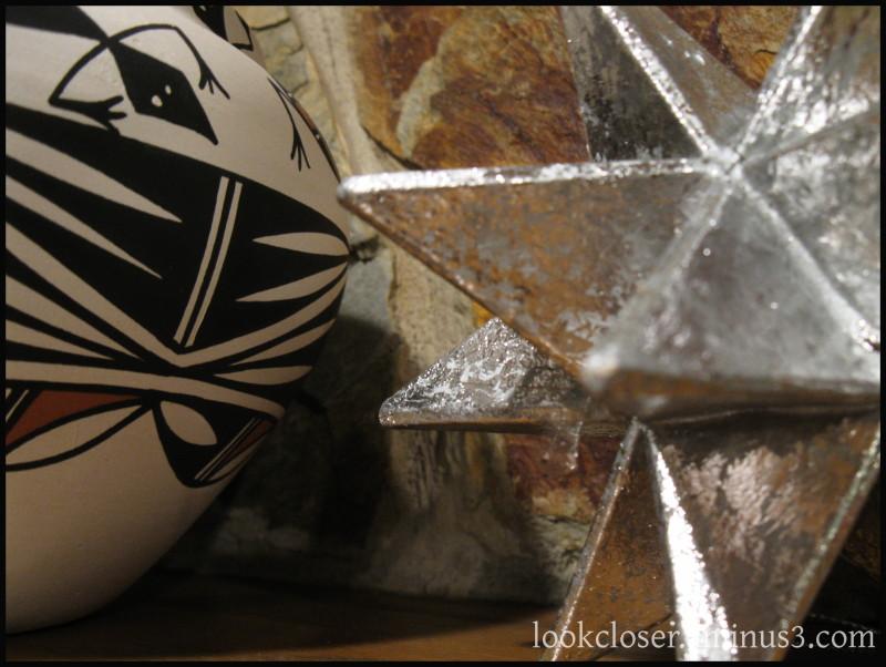 Christmas Moravian-star pottery home