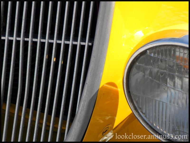 yellow antique car PanamaCity FL