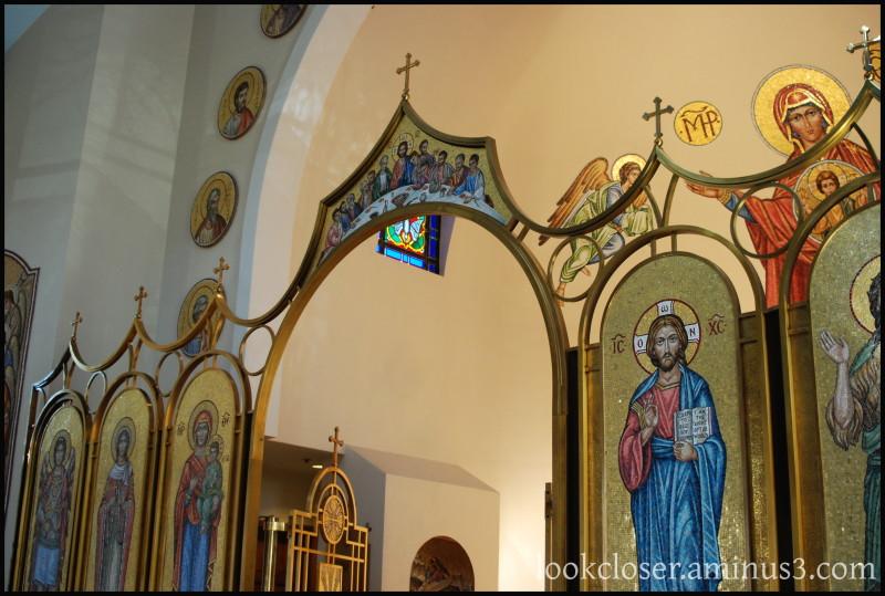 StBarbara's Church Chancel Sarasota FL Icons